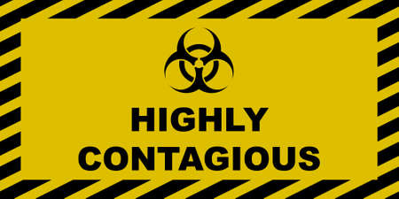 Highly Contagious Stock Vector - 78025658