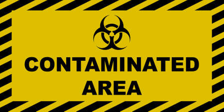 Contaminated Area Sign