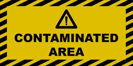 Contaminated Area Sign