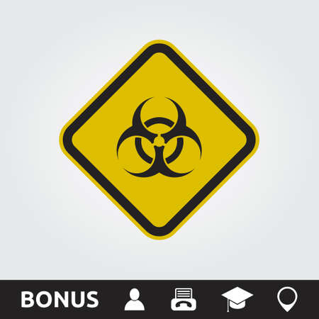 Toxic square sign