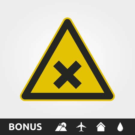 X Danger Sign