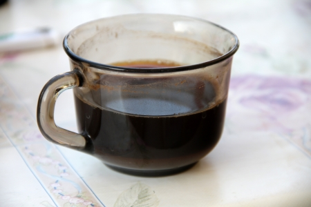 coffee hour: cup of coffee Stock Photo