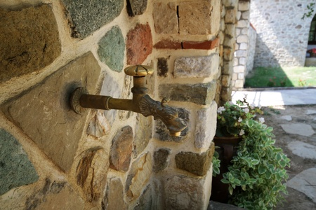 old tap Stock Photo