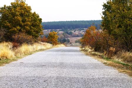 road Standard-Bild