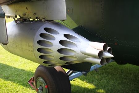 Hubschrauber Raketen Lizenzfreie Bilder