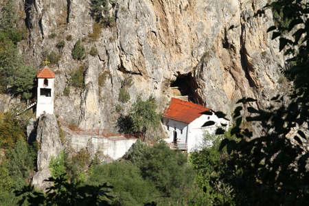 Orthodoxen Kloster in Rock