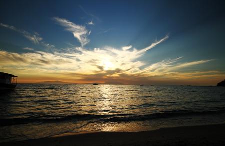Sonnenuntergang �ber dem Meer