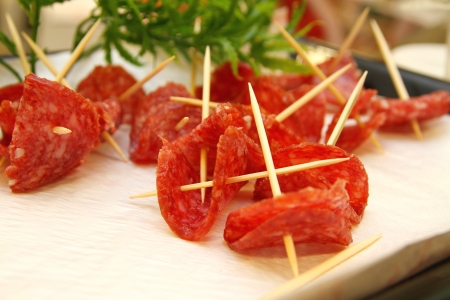 appetizers salami