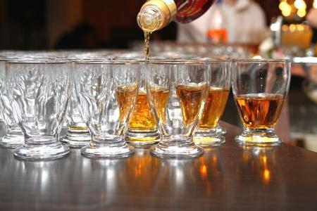 Glas Brandy  Lizenzfreie Bilder