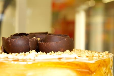 chocolate nuts cake