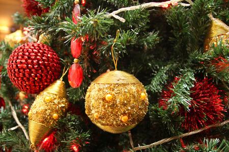Weihnachten Baum Makro Lizenzfreie Bilder