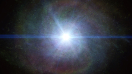 cosmos galaxy nebula concept photo