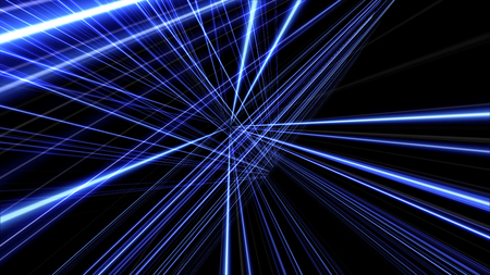 3d lines background abstract