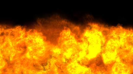 explosion fire flame abstract texture Standard-Bild