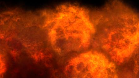 explosion feu flamme texture abstraite