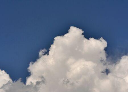 zoom big clouds in sky landscape Фото со стока - 131128624