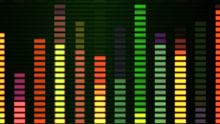 levels vu audio led level meter