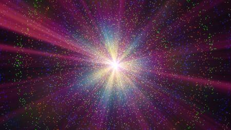 atome particule rayon lumière couleur résumé