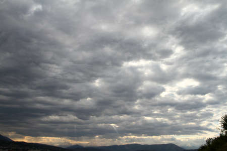 Sky and clouds panorama landscape, background natural