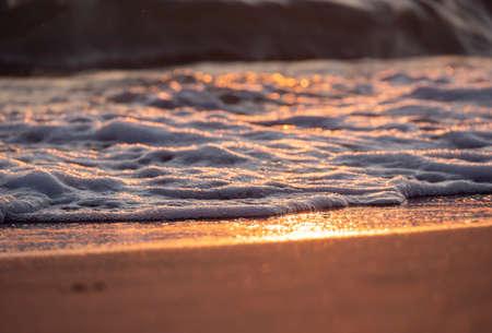 wave splash sea beach macro, close up