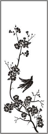 matting: Dibujo para espejos arenado 1-13