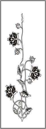 matting: Dibujo para espejos arenado 1-18