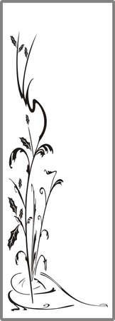 matting: Dibujo para espejos arenado 1-22