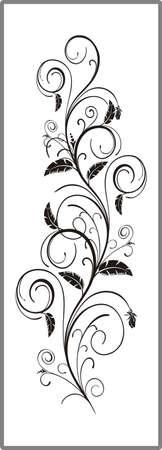 matting: Dibujo para espejos arenado 1-30 Vectores