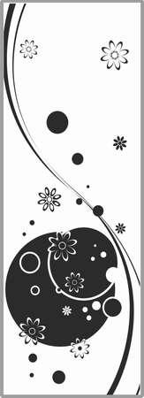 matting: Dibujo para espejos arenado 1-52 Vectores