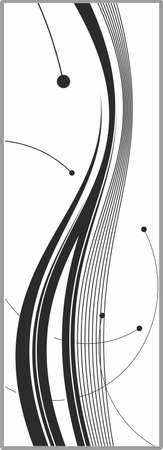 matting: Dibujo para espejos arenado 1-54 Vectores