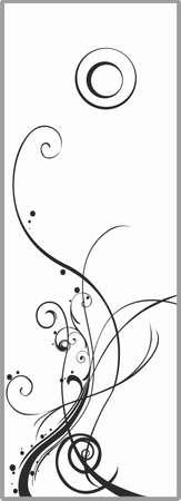 matting: Drawing for sandblasting mirrors 1-56