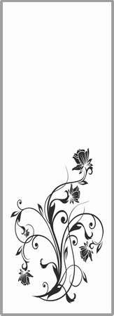 matting: Dibujo para espejos arenado 1-59 Vectores