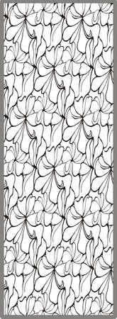 matting: floral ornament