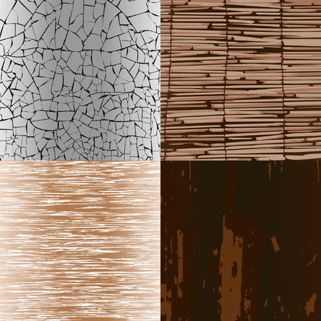 wood textures: Various wood textures. A vector illustration