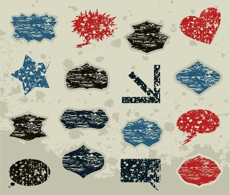balon: Set of frameworks for design  A vector illustration