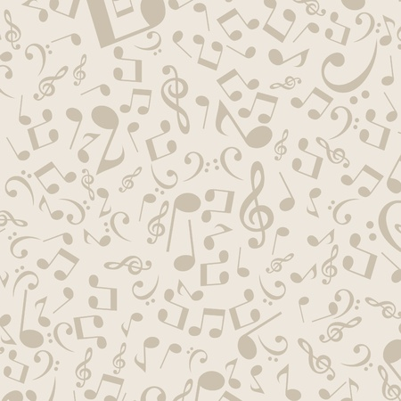 religious music: Grey background from notes illustration Illustration