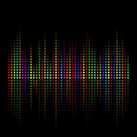 iridescent: Abstract iridescent colour background