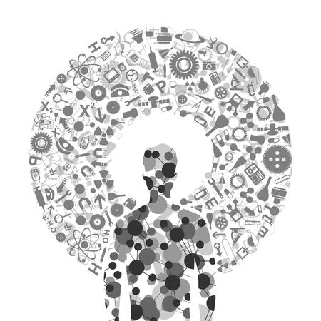 mente humana: Las materias cient�ficas en torno a la persona