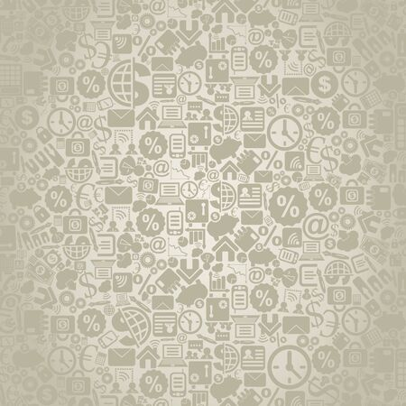 Grey background on a theme business. A vector illustration Vector