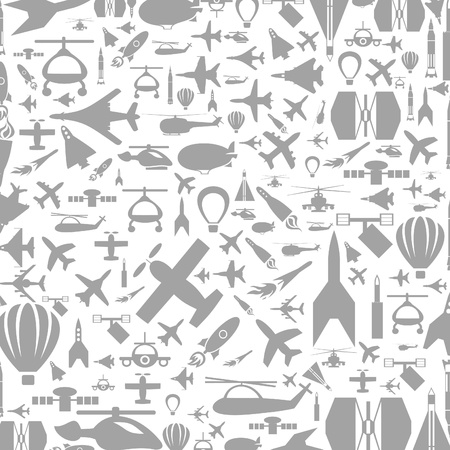 Background made of transport. A vector illustration Stock Vector - 16985761