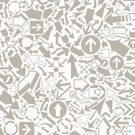 Background from arrows of grey colour Stock Vector - 17435079