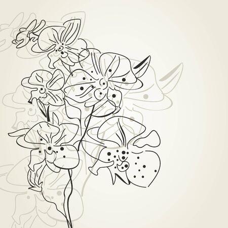 dismissed: In the spring flowers were dismissed illustration Illustration