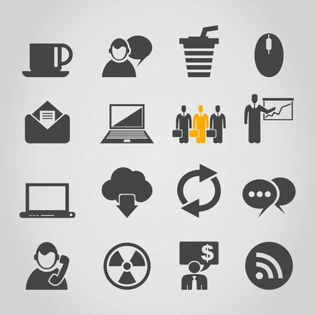 Set of icons for web design  A vector illustration Vector