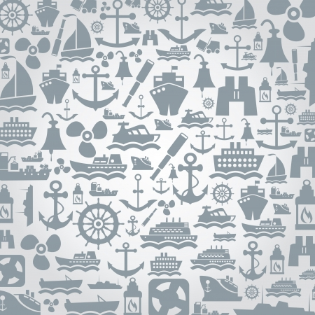 barge: Background made of  A  illustration
