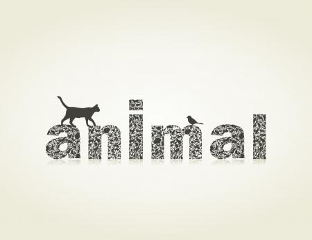 author: Inscription an animal made of animals.