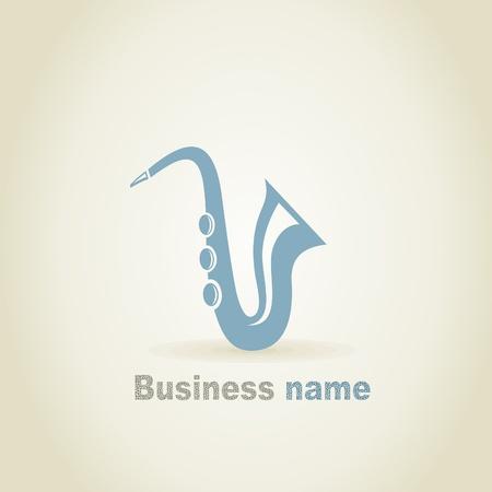 fender: Saxophone a sign for design. A vector illustration