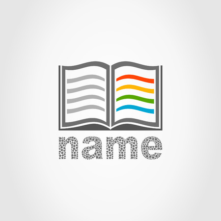 The book on a white background. Stock Vector - 22218564
