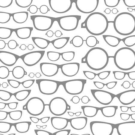 Background made from Glasses. A vector illustration Vector