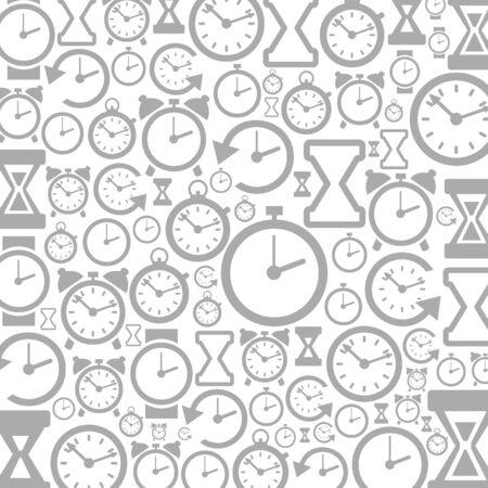 Grey Design layout of hours. A illustration