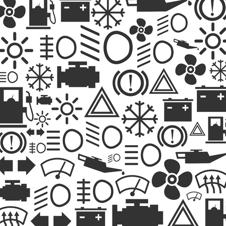 Background made of the car device. A vector illustration Vector
